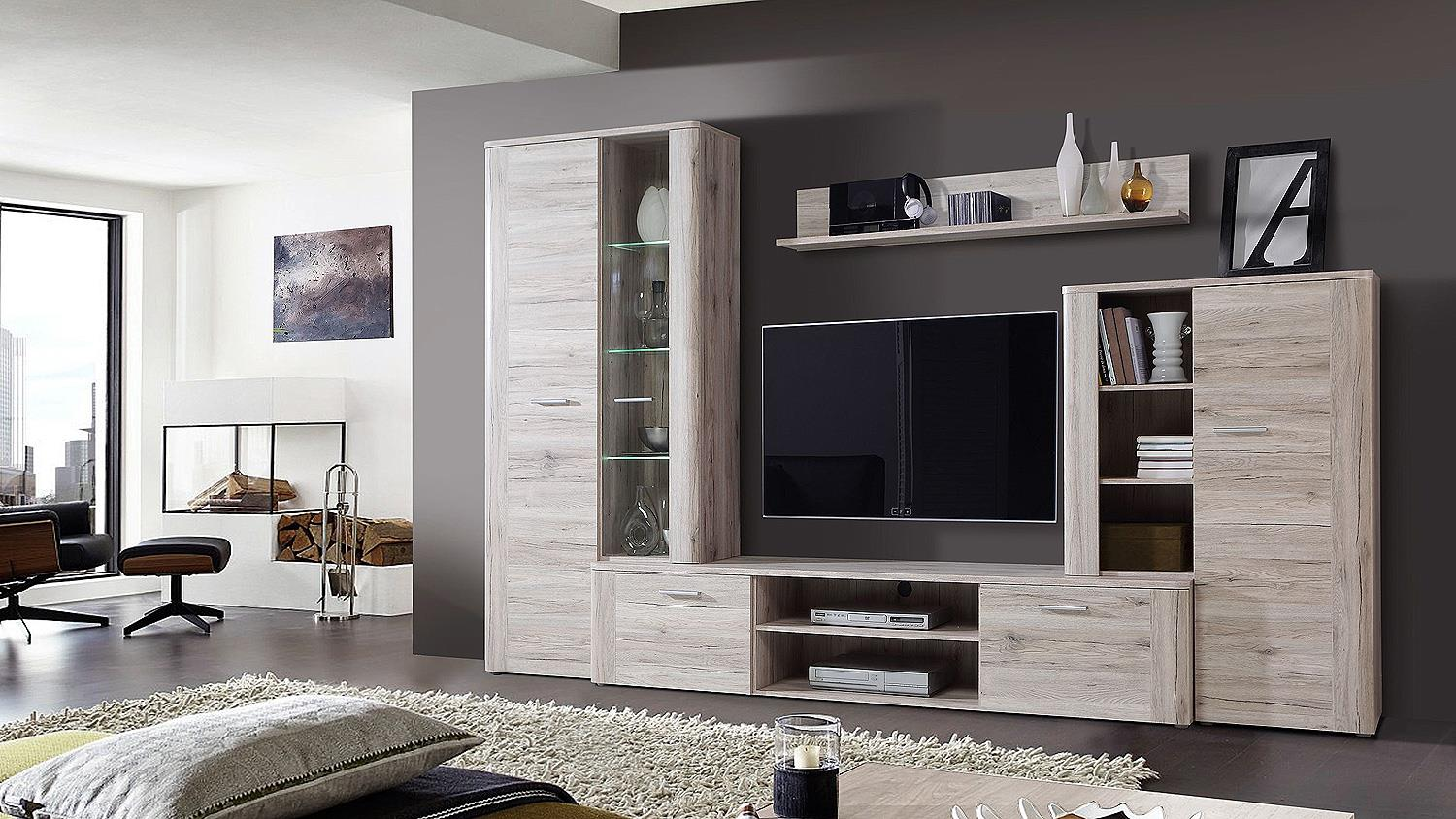 sideboard big bang anrichte kommode in sandeiche. Black Bedroom Furniture Sets. Home Design Ideas