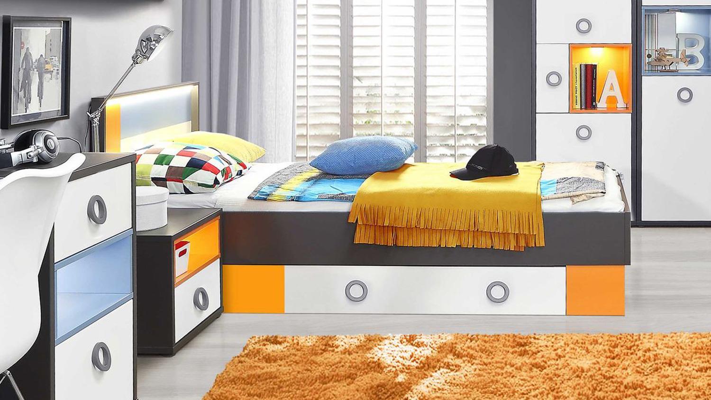 Wunderbar Bett Jugendzimmer Foto Von
