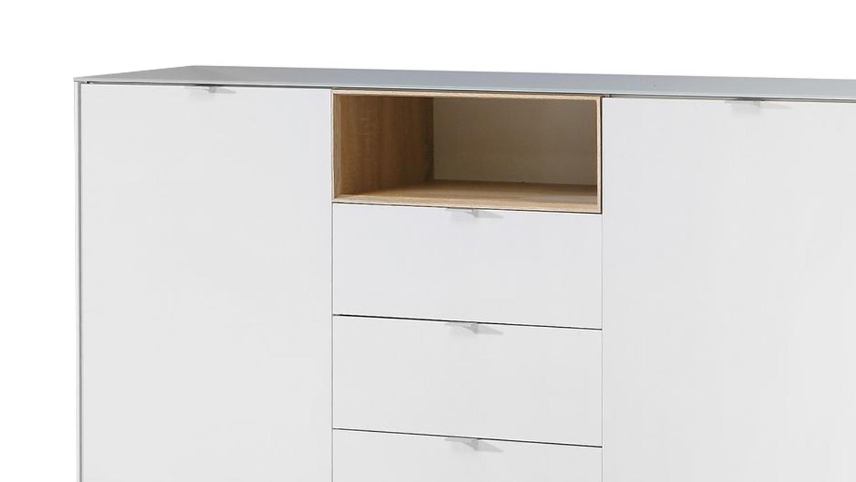 kommode wei und eiche inspirierendes design f r wohnm bel. Black Bedroom Furniture Sets. Home Design Ideas