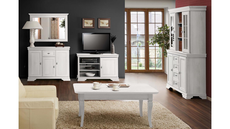 kommode avinion in schnee eiche wei mit 3 t ren und 1 schubkasten. Black Bedroom Furniture Sets. Home Design Ideas