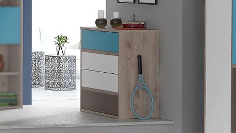 blaue kommode swalif. Black Bedroom Furniture Sets. Home Design Ideas