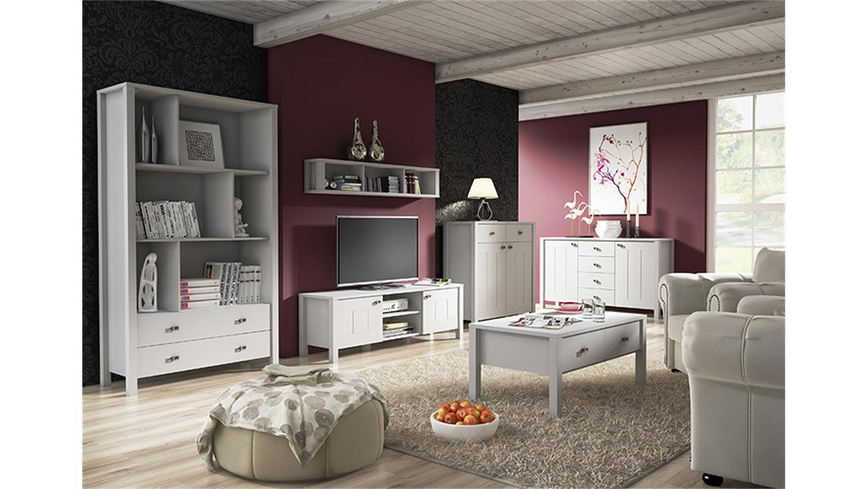Wohnwand landhaus modern interessante ideen - Landhaus wohnwand ...