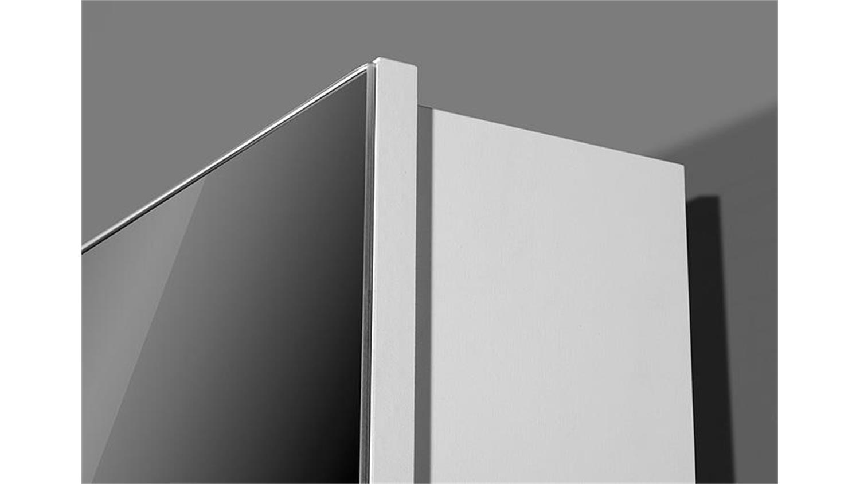 drehschrank 1189 von germania in wei mit spiegel. Black Bedroom Furniture Sets. Home Design Ideas