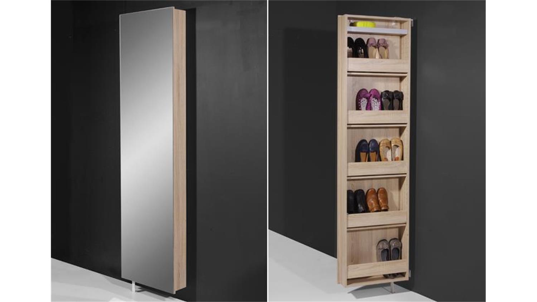 drehschrank 1189 sonoma eiche mit spiegel germania. Black Bedroom Furniture Sets. Home Design Ideas