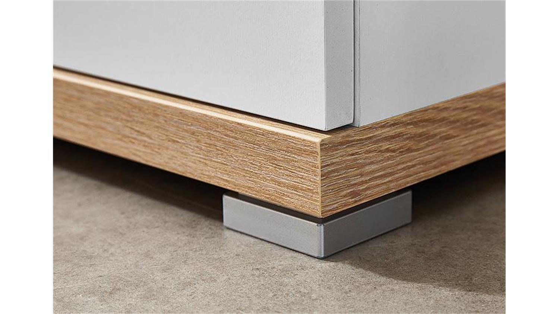 garderobenschrank top wei und sonoma eiche germania. Black Bedroom Furniture Sets. Home Design Ideas