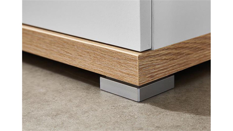 garderoben set 2 top wei sonoma eiche 6 teilig germania. Black Bedroom Furniture Sets. Home Design Ideas