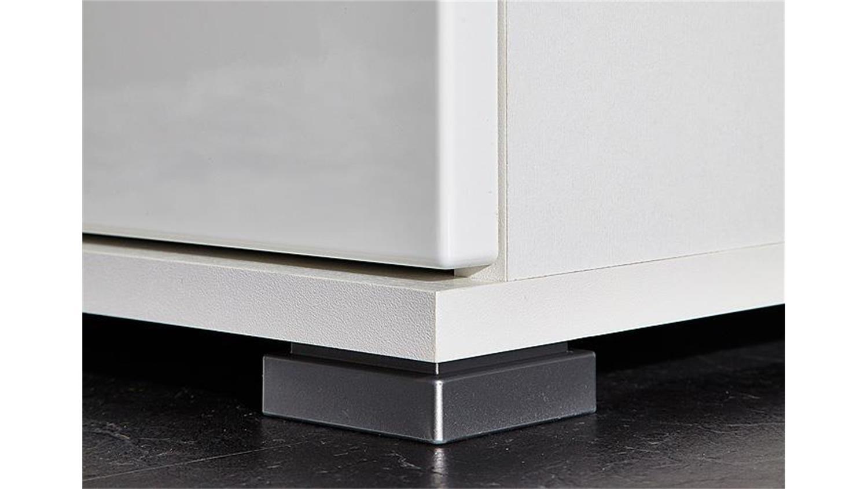 dielenschrank garderobenschrank inside in wei hochglanz. Black Bedroom Furniture Sets. Home Design Ideas