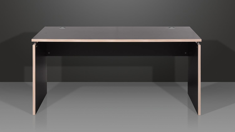 eck schreibtisch duo 2 b rotisch tisch anthrazit rosales. Black Bedroom Furniture Sets. Home Design Ideas