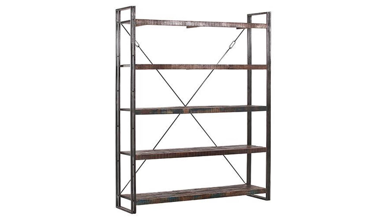 regale metall regal iv titan b cherregal metall antikfarben mango massiv regal manchester ii. Black Bedroom Furniture Sets. Home Design Ideas