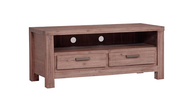 tv lowboard tunis akazie teilmassiv sandfarbig. Black Bedroom Furniture Sets. Home Design Ideas