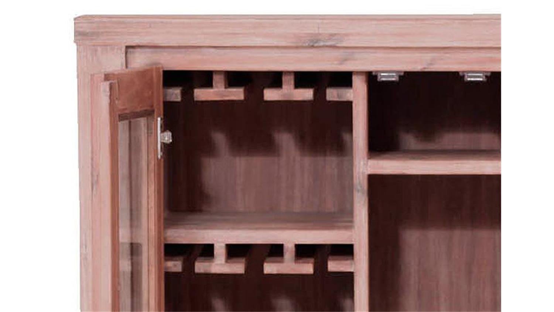 barschrank tunis akazie teilmassiv sandfarbig. Black Bedroom Furniture Sets. Home Design Ideas