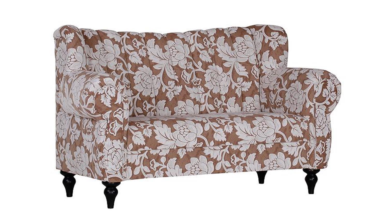 speisesofa new barock webstoff beige creme sitzh he 50 cm. Black Bedroom Furniture Sets. Home Design Ideas