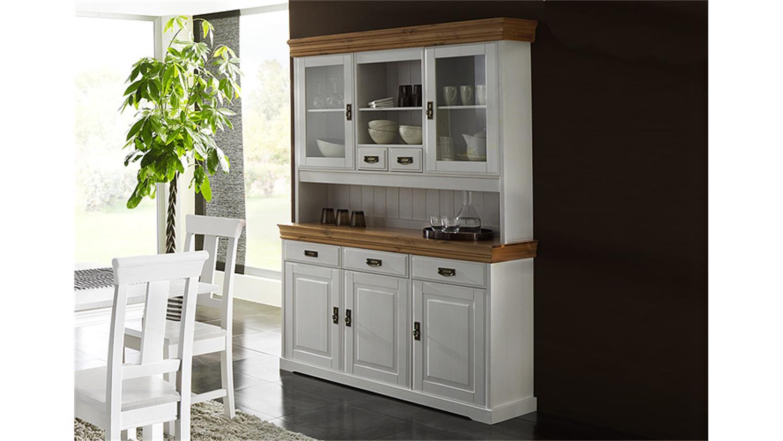 anrichte rudolf kiefer massiv wei gewachst honig lackiert. Black Bedroom Furniture Sets. Home Design Ideas