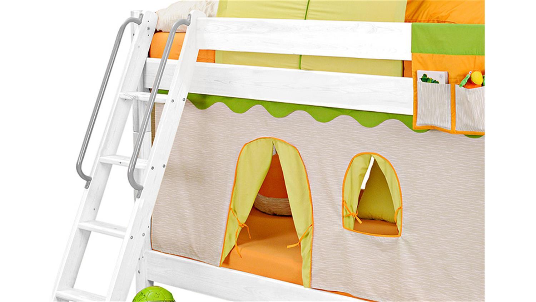 Vorhang dschungel ihr traumhaus ideen for Bett yes we can