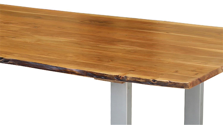 esstisch agra massivholz akazie 180x90 cm mit original. Black Bedroom Furniture Sets. Home Design Ideas