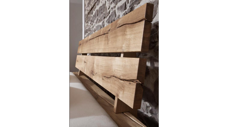 balkenbett jonas bett aus wildeiche massiv 180x200. Black Bedroom Furniture Sets. Home Design Ideas