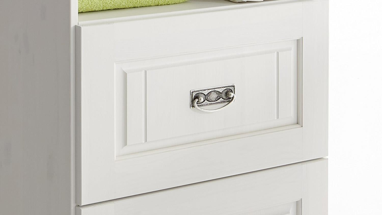regal odette standregal in kiefer wei massiv babyzimmer. Black Bedroom Furniture Sets. Home Design Ideas