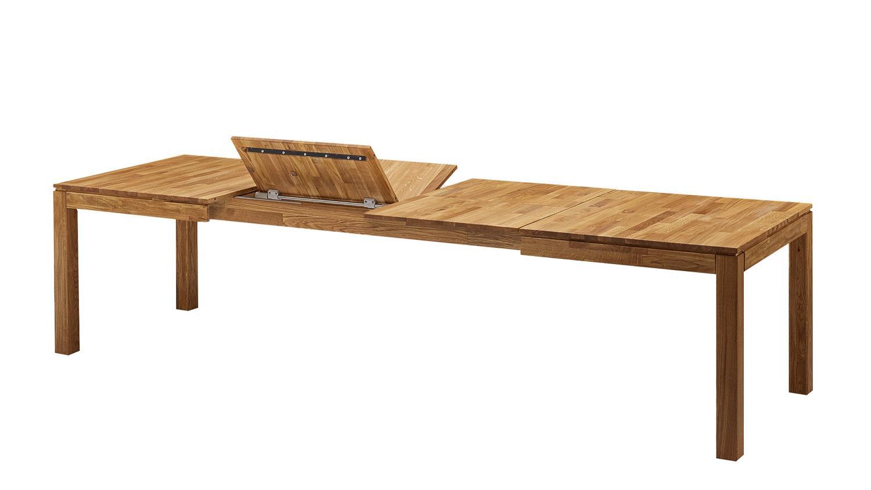 ausziehtisch esstisch geka wildeiche massiv ge lt 160 290x90 cm. Black Bedroom Furniture Sets. Home Design Ideas
