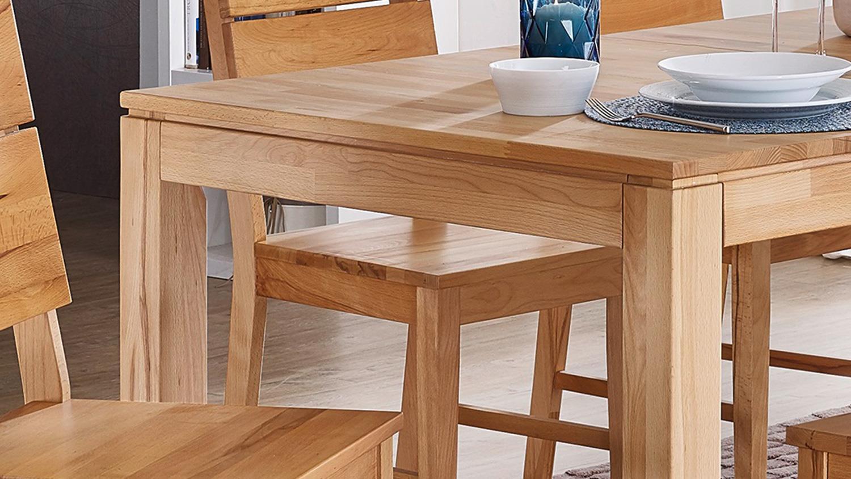 Esstisch holm tisch in kernbuche massiv 160 240x90 cm for Tisch esstisch