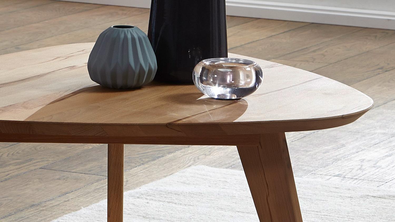 couchtisch olpe1 beistelltisch wildeiche massiv ge lt dreieckig 95x104. Black Bedroom Furniture Sets. Home Design Ideas