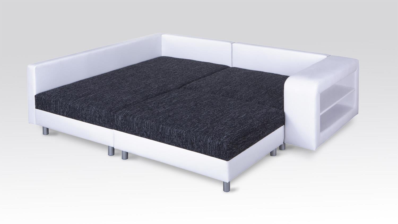 ecksofa mit ablage blumentisch massivholz mit ablage in. Black Bedroom Furniture Sets. Home Design Ideas
