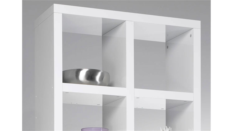 b cherregal wei hochglanz raum und m beldesign inspiration. Black Bedroom Furniture Sets. Home Design Ideas
