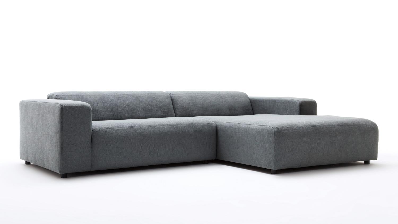 Hülsta Sofa Von Rolf Benz Ecksofa 432 Stoff Anthrazit Grau 300x185 Cm
