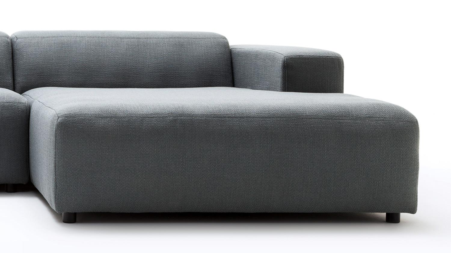 h lsta sofa von rolf benz ecksofa 432 stoff anthrazit grau. Black Bedroom Furniture Sets. Home Design Ideas