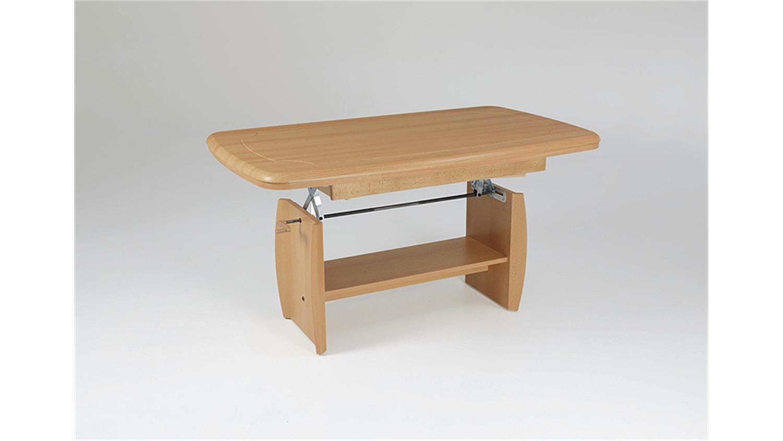 couchtisch dirk iii buche h henverstellbar ausziehbar. Black Bedroom Furniture Sets. Home Design Ideas