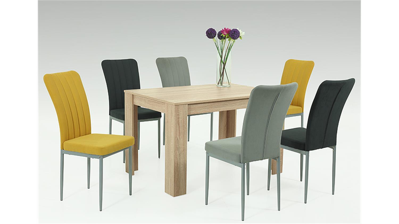 Apollo Esstisch Doris ~ Esstisch DORIS Küchentisch Sonoma Eiche 120×80 cm