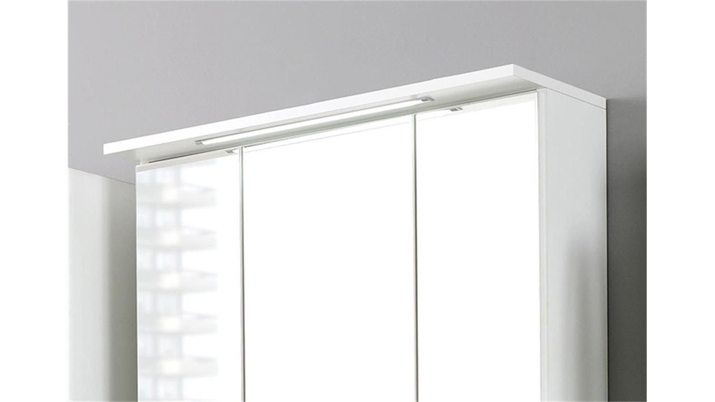 spiegelschrank bologna 70 cm badm bel wei einbauleuchte. Black Bedroom Furniture Sets. Home Design Ideas