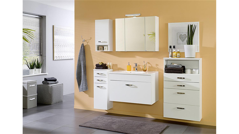 Badezimmer set 2 capri in wei inkl led 5 tlg - Badezimmer set ...