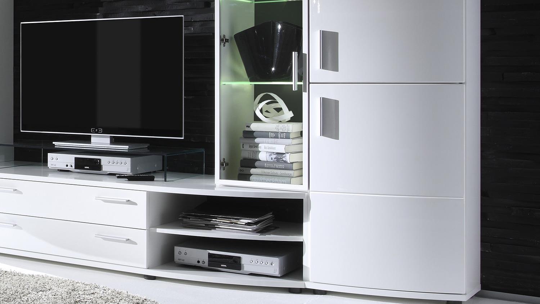 Möbel Weiß Hochglanz Wohnzimmer – sehremini