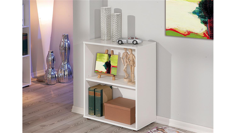 regal arco 1 b cherregal b rp aktenregal in wei h he 75 cm. Black Bedroom Furniture Sets. Home Design Ideas
