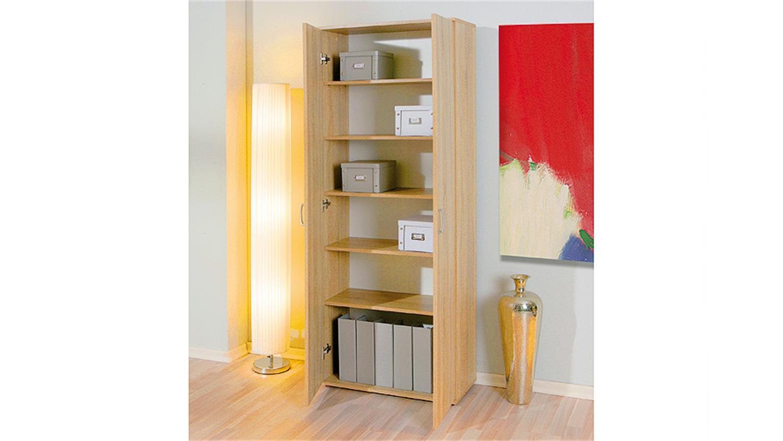 mehrzweckschrank gallo sonoma eiche 2 t rig. Black Bedroom Furniture Sets. Home Design Ideas