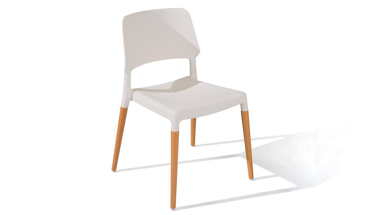 Stuhle Esszimmer Buche Massiv : Stuhl TILDE 4er-Set in weiß und Buche ...
