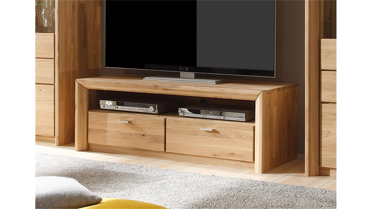 tv mobel eiche massiv geolt. Black Bedroom Furniture Sets. Home Design Ideas