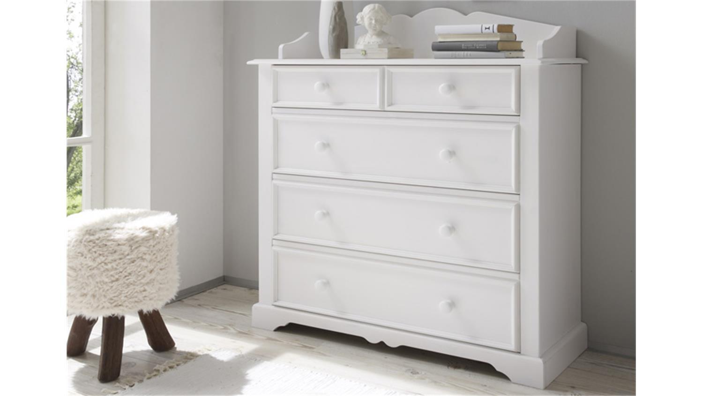 kiefer kommode weis streichen m bel und heimat design. Black Bedroom Furniture Sets. Home Design Ideas