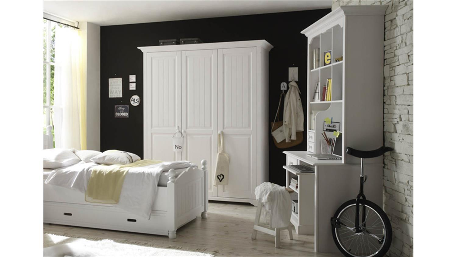 eckschreibtisch wei mit aufsatz. Black Bedroom Furniture Sets. Home Design Ideas