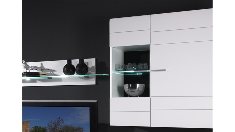 carero 3 wohnzimmer anbauwand weiß hochglanz, Deko ideen