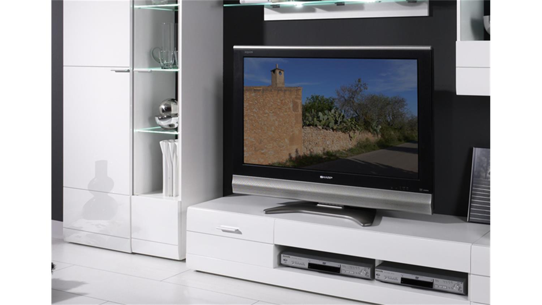 wohnzimmer tv anbauwand. Black Bedroom Furniture Sets. Home Design Ideas