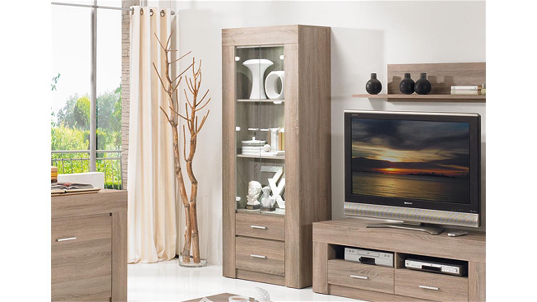 vitrine sonoma eiche dunkel interessante ideen f r die gestaltung eines raumes in. Black Bedroom Furniture Sets. Home Design Ideas