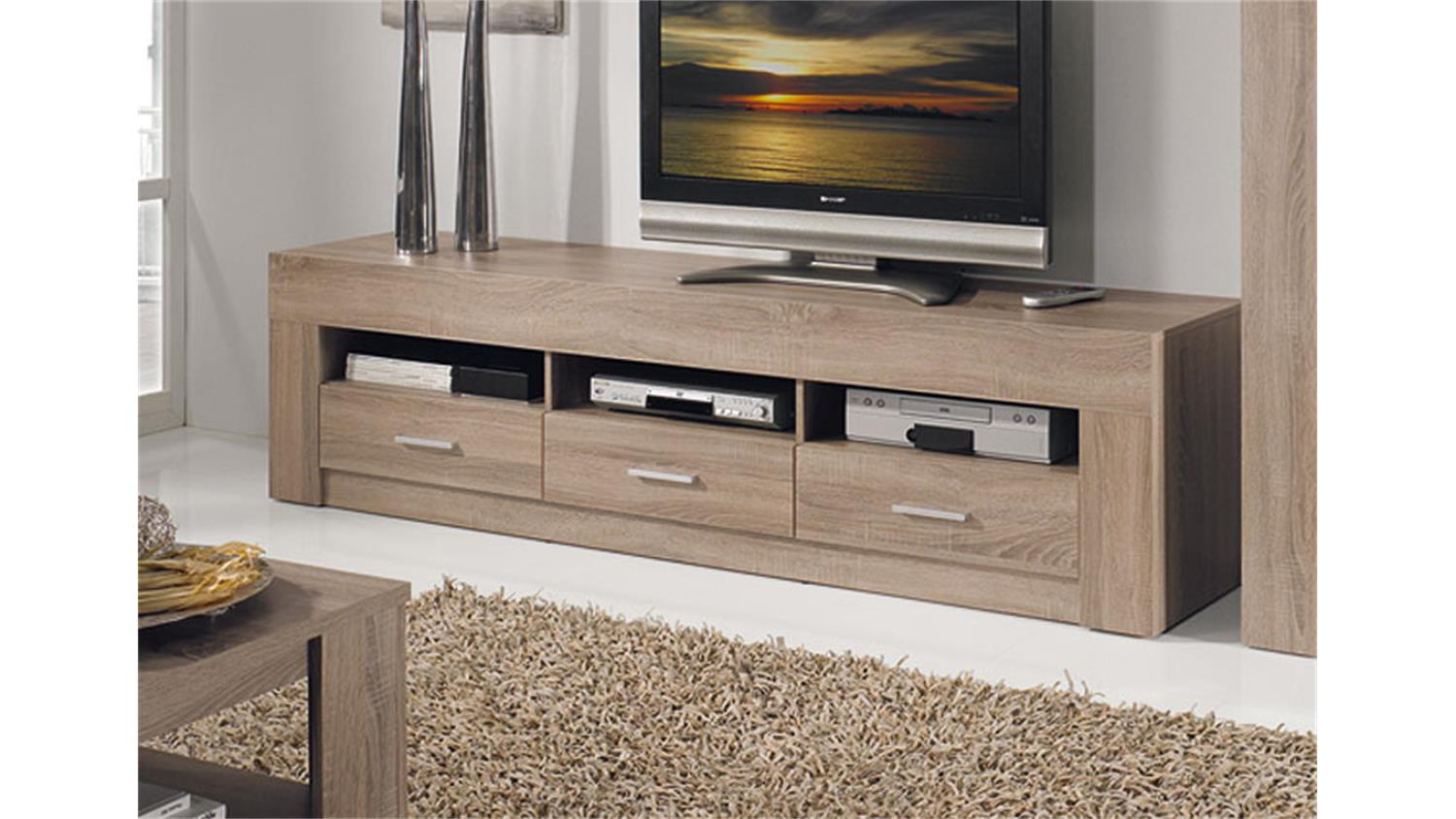 tv lowboard h ngend eiche interessante. Black Bedroom Furniture Sets. Home Design Ideas