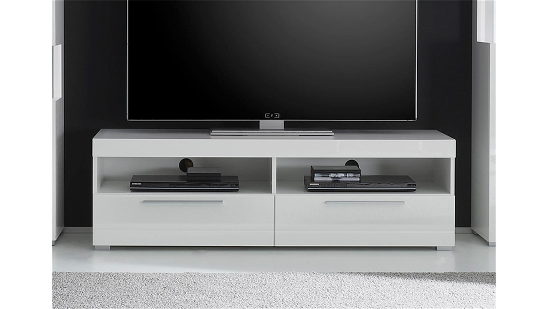 tv board 1 star mdf wei hochglanz tiefzieh. Black Bedroom Furniture Sets. Home Design Ideas