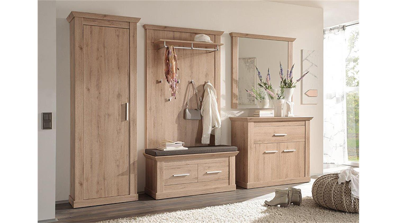 garderobenschrank 3 savona garderobe denmark eiche. Black Bedroom Furniture Sets. Home Design Ideas