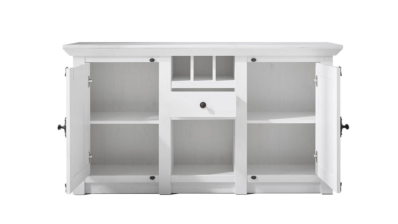 sideboard westerland kommode in pinie wei. Black Bedroom Furniture Sets. Home Design Ideas