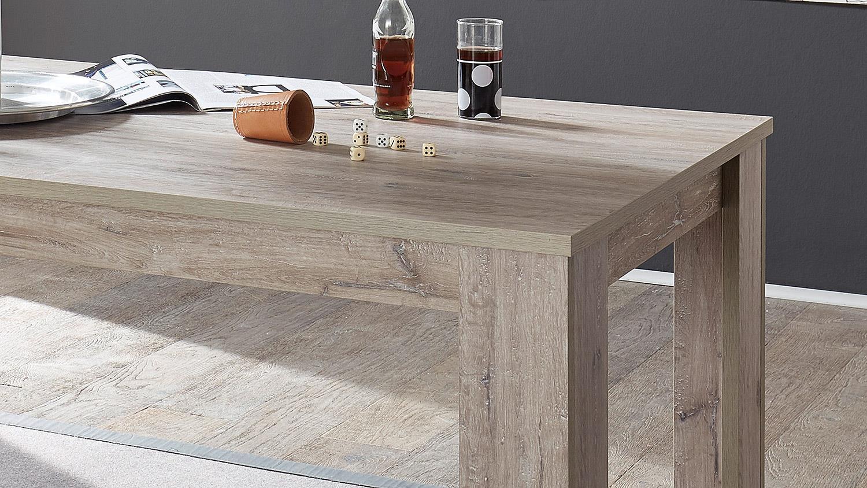 esstisch biarritz tisch in ancona eiche 160x90 cm. Black Bedroom Furniture Sets. Home Design Ideas