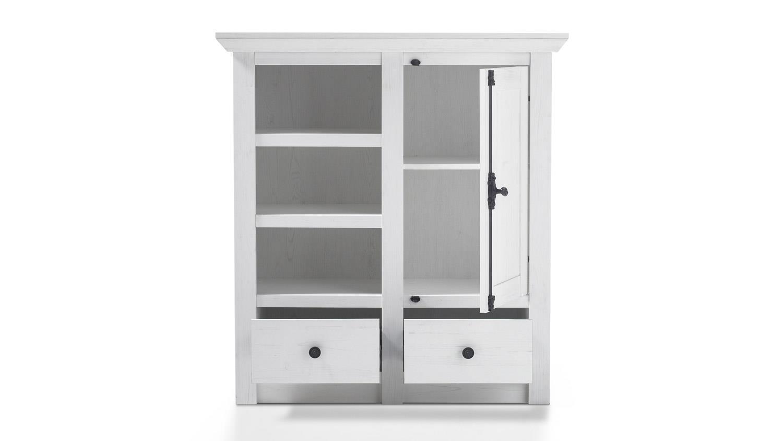 kommode westerland 3 garderobenschrank in pinie wei. Black Bedroom Furniture Sets. Home Design Ideas