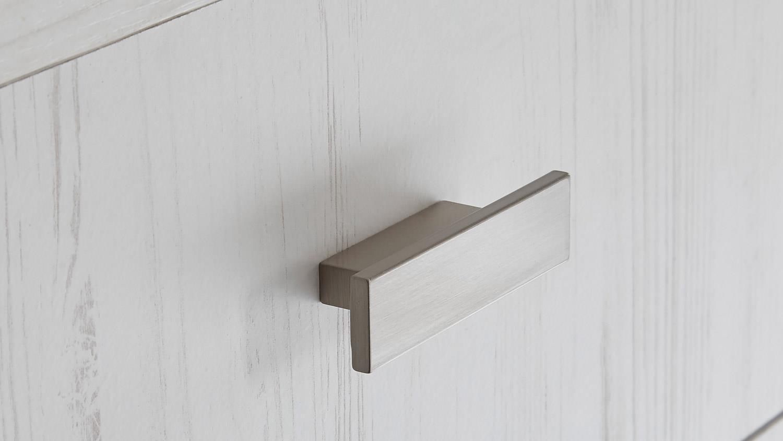 couchtisch frames beistelltisch in pinie wei und metall. Black Bedroom Furniture Sets. Home Design Ideas