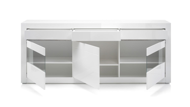 Malerisch Sideboard Grau Weiß Beste Wahl